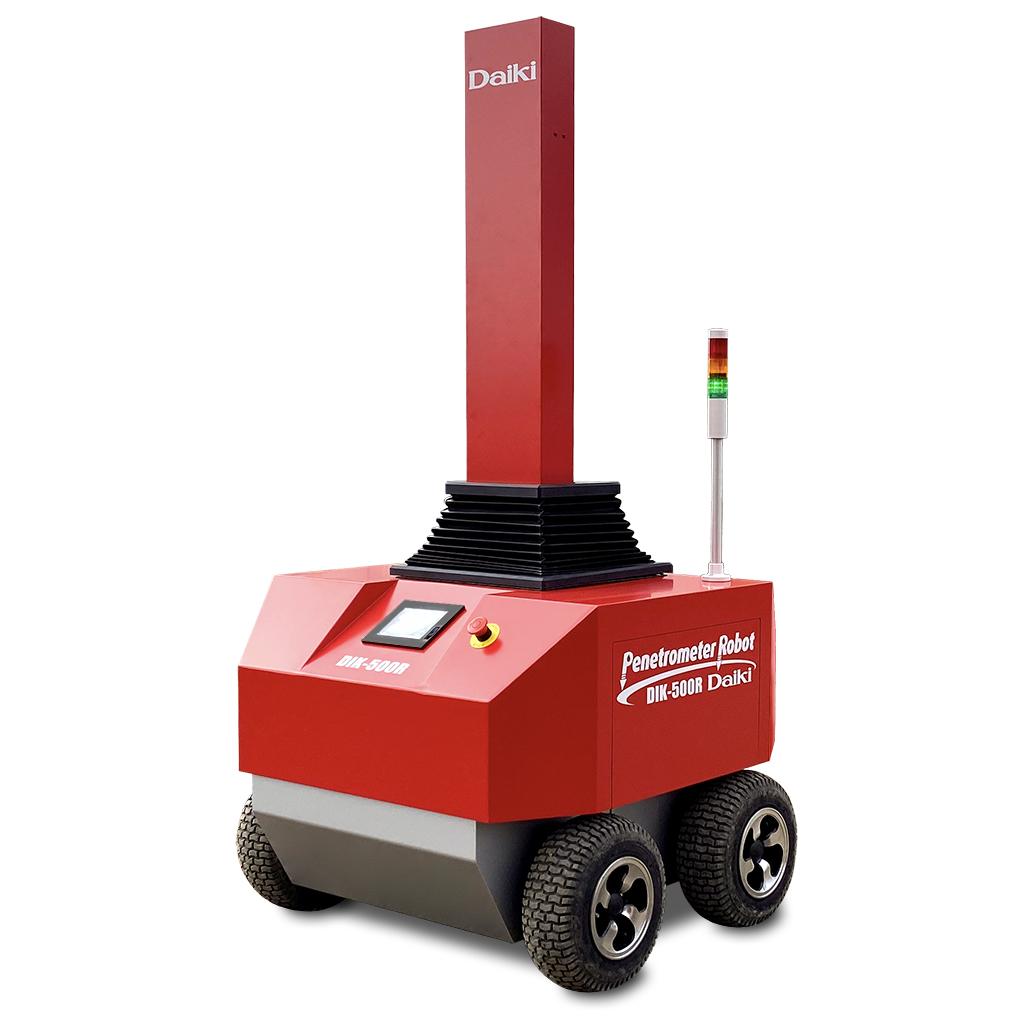 DIK-500R 土壌硬度・水分計測ロボット